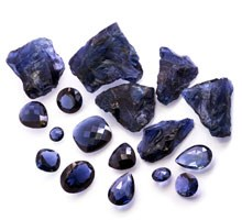natural or treated blue sapphires