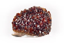 natural or treated garnets