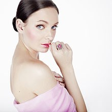 pink sapphire style tips