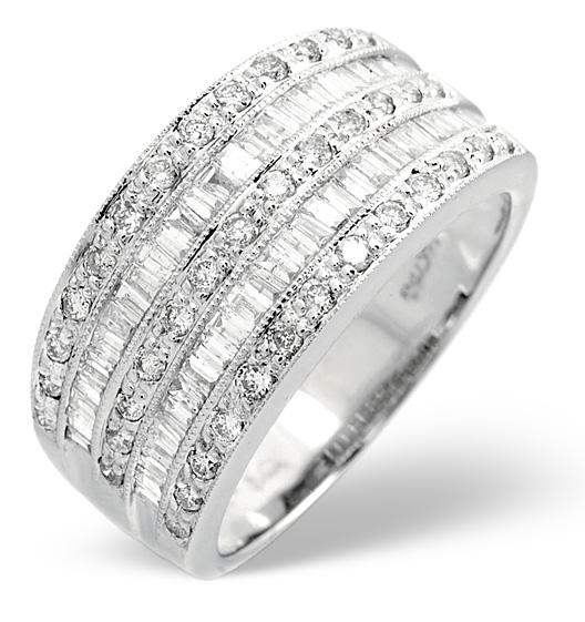 pave century diamond platinum set p offset mid eternity bands double wedding band modern row c