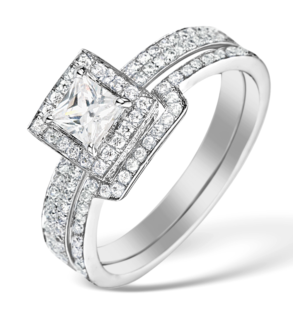 wedding set matching halo rings v white ring diamond gold engagement cushion p width